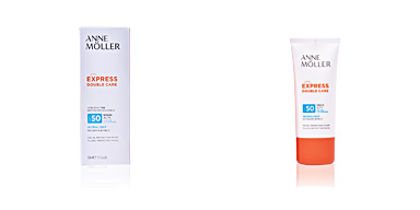 Faciales EXPRESS DOUBLE CARE healthy tan fluid SPF50 Anne Möller
