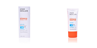 Faciales EXPRESS DOUBLE CARE sun kiss fluid SPF30 Anne Möller