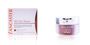Anti aging cream & anti wrinkle treatment 365 SKIN REPAIR light mousse cream SPF15 Lancaster