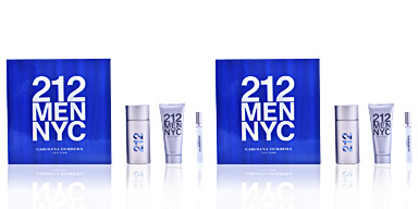 Carolina Herrera 212 MEN LOTE 3 pz
