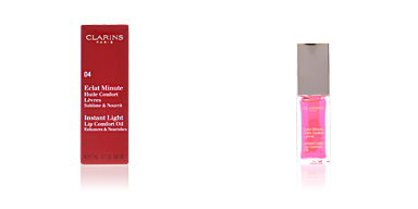 Clarins ECLAT MINUTE huile confort lèvres #04-candy pink 7 ml