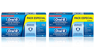 Oral-b PRO-EXPERT PROTECCION PROFESIONAL DENTÍFRICO LOTE 2 pz