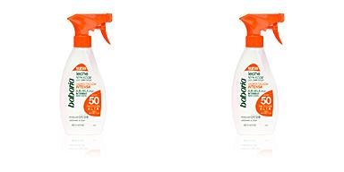 Corps SOLAR HIDRATACION INTENSA leche SPF50 spray Babaria