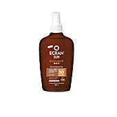 Ciało SUN LEMONOIL BRONCEA+ aceite protector SPF30 spray Ecran