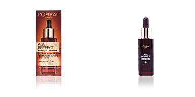 Tratamento hidratante rosto AGE PERFECT NUTRICION INTENSA sérum L'Oréal París