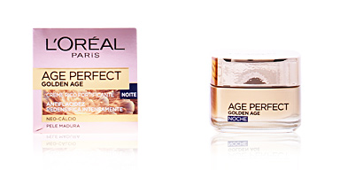 Anti aging cream & anti wrinkle treatment AGE PERFECT GOLDEN AGE crema de noche L'Oréal París