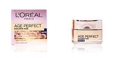 Crèmes anti-rides et anti-âge AGE PERFECT GOLDEN AGE crema de noche L'Oréal París