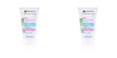 Facial cleanser PURE ACTIVE gel limpiador piel sensible Garnier
