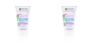 Nettoyage du visage PURE ACTIVE gel limpiador piel sensible Garnier