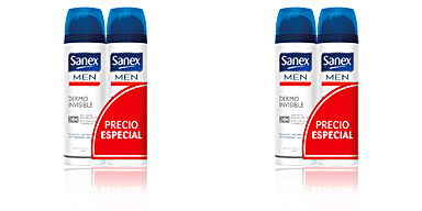 Set de bain et hygiène MEN DERMO INVISIBLE DÉODORANT VAPORISATEUR COFFRET Sanex