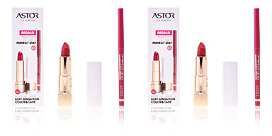 SOFT SENSATION #603-cinnamon cashmere + lip liner Astor