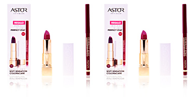 SOFT SENSATION #701-sensual praline + lip liner Astor