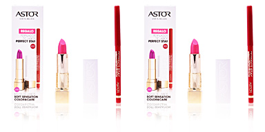 Lip liner SOFT SENSATION #200-glamurous pink + lip liner Astor