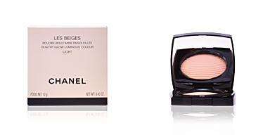 Chanel LES BEIGES poudre belle mine ensoleillée #light 12 gr