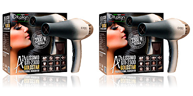 Asciugacapelli AIRLISSIMO GTI 2300 professional hairdryer gold star Id Italian