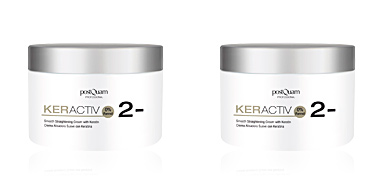 Alisamento capilar KERACTIV smooth straightening cream with keratin Postquam