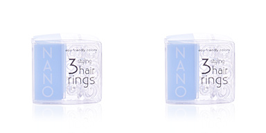 Invisibobble INVISIBOBBLE NANO crystal clear hair rings 3 uds
