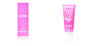 Shower gel FRESH COUTURE PINK the freshest bath and shower gel Moschino