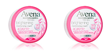 Body moisturiser AVENA ACLARANTE crema humectante Instituto Español