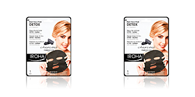 Face mask DETOX CHARCOAL BLACK tissue facial mask Iroha