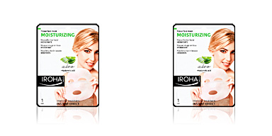 Face mask TISSUE MASK moisturizing aloe + hyaluronic acid Iroha