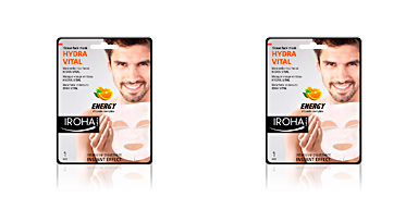 Iroha MEN TISSUE MASK hydra vital vitamin C
