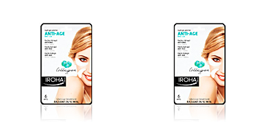 EYES & LIPS hydrogel patches collage anti-age 6 pcs Iroha