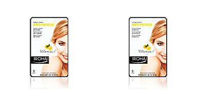 Dark circles, eye bags & under eyes cream EYES & LIPS hydrogel patches anti-fatigue vitamin C Iroha
