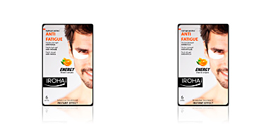 Iroha MEN EYE PADS antifatigue vit complex 3 uses