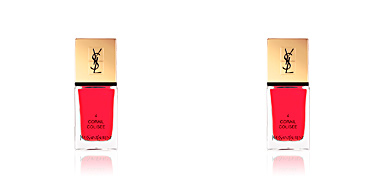 LA LAQUE COUTURE #04-corail colisee Yves Saint Laurent