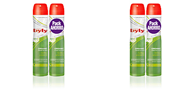 ORGANIC EXTRA FRESH dezodorant spray SET Byly