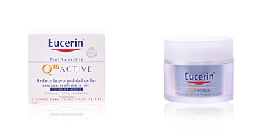 Anti aging cream & anti wrinkle treatment Q10 ACTIVE crema de noche antiarrugas Eucerin