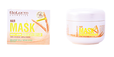 Mascarilla reparadora WHEAT GERM hair mask Salerm