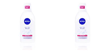 Micellar water AGUA MICELAR piel seca Nivea