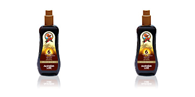 Corporales SUNSCREEN SPRAY GEL with instant bronzer SPF6 Australian Gold