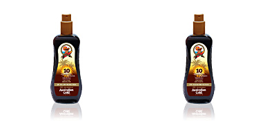 SUNSCREEN SPF10 spray gel with instant bronzer Australian Gold