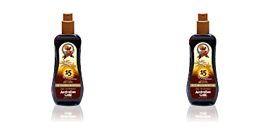 SUNSCREEN SPF15 spray gel with instant bronzer 237 ml Australian Gold