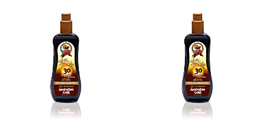 Australian Gold SUNSCREEN SPF30 spray gel with instant bronzer 237 ml
