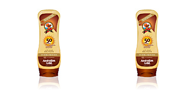 SUNSCREEN SPF50 lotion with bronzer Australian Gold