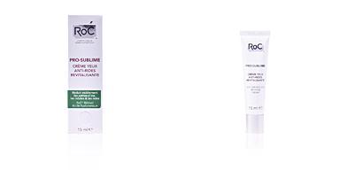 Roc PRO SUBLIME anti-wrinkle eye reviving cream 15 ml