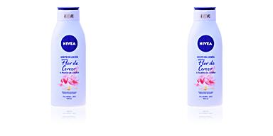 Body moisturiser ACEITE EN LOCIÓN flor cerezo & jojoba Nivea