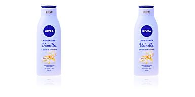 Body moisturiser ACEITE EN LOCIÓN vainilla & almendras Nivea