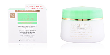 Body moisturiser PERFECT BODY sublime melting cream Collistar