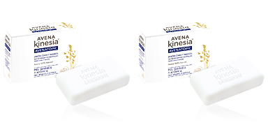 Limpiador facial AVENA TOPIC jabón pastilla Avena Kinesia
