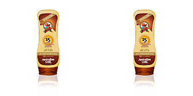 SUNSCREEN SPF15 lotion with bronzer Australian Gold