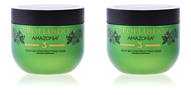Hair mask for damaged hair AMAZONIA step 3 deep reconstruction mask Orofluido