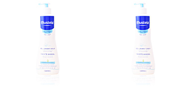 Mustela BÉBÉ gentle cleansing gel hair and body 750 ml