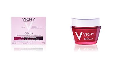 Skin lightening cream & brightener IDÉALIA crème de lumière lissante peaux sèches Vichy