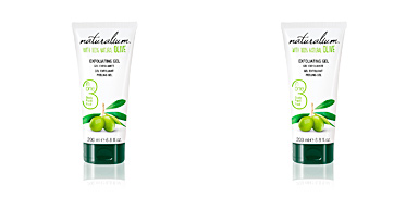 Exfoliante facial 100% NATURAL OLIVE exfoliating gel Naturalium