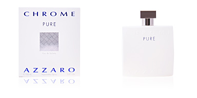 Azzaro CHROME PURE eau de toilette vaporizador 100 ml
